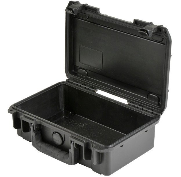 "iSeries Waterproof Case with Empty Interior, 10.7""x6""x3.25"""