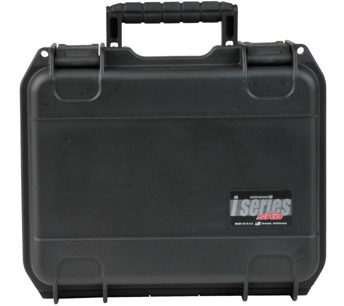 "iSeries Waterproof Case with Layered Foam Interior, 12""x9""x4.5"""