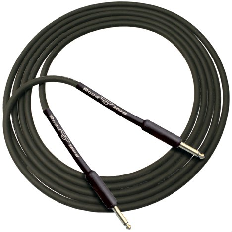 """Roadhog Series 15ft Instrument Cable with Gold-Plated 1/4"""" TS Connectors"""