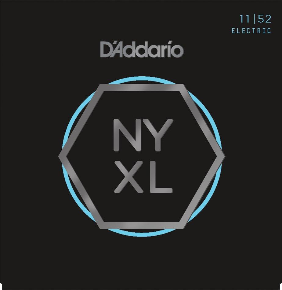 NYXL Series Nickel Wound Medium Top/Heavy Bottom Guitar Strings, 11-52