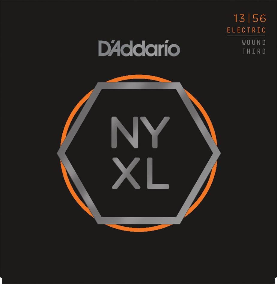 NYXL Series Nickel Wound, Medium Wound 3rd Guitar Strings, 13-56