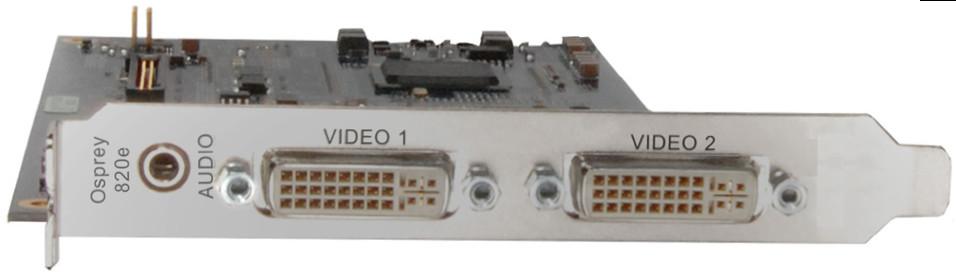 Dual DVI-I Capture Card with SimulStream