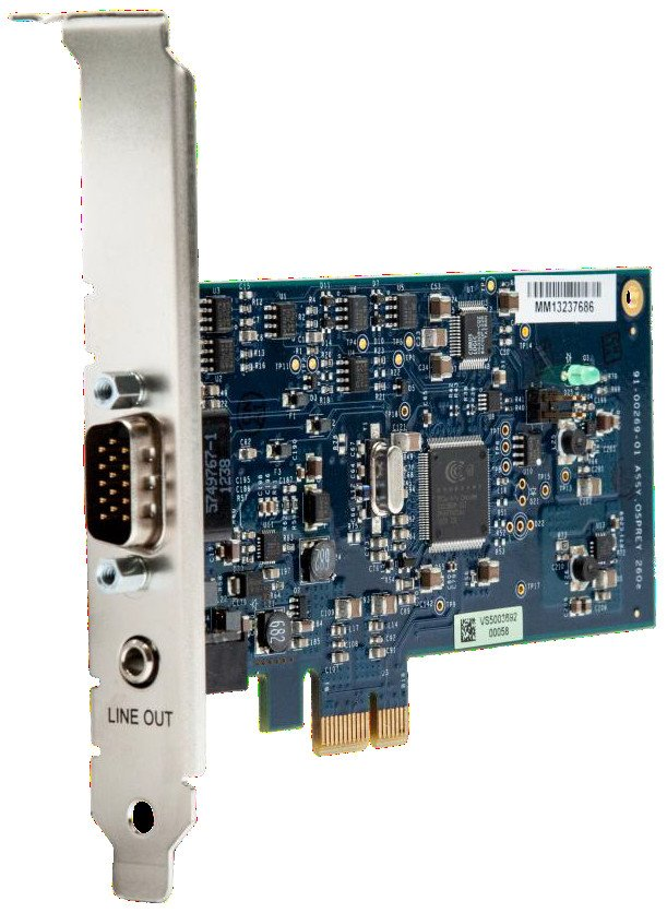 PCIe Analog Video Capture Card Stereo Audio with SimulStream