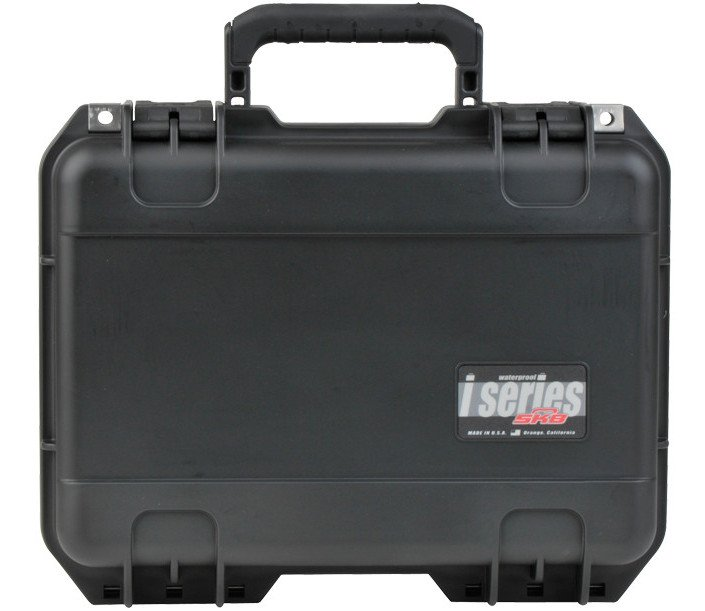 "iSeries Waterproof Case with Layered Foam Interior, 15""x10.5""x6"""
