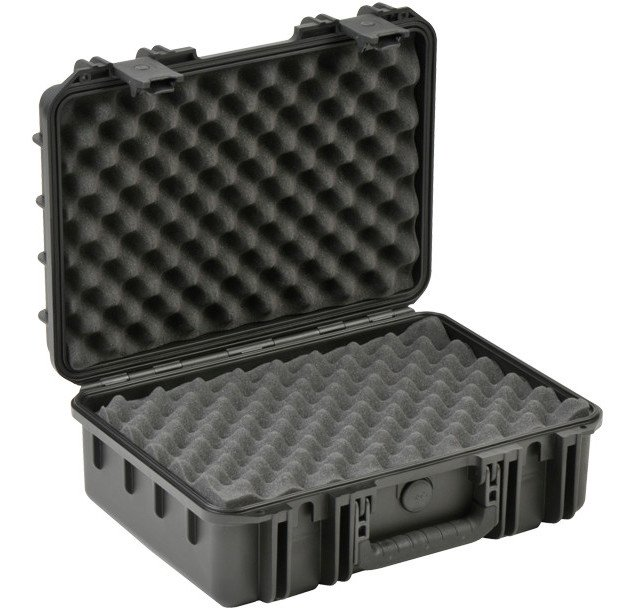 "iSeries Molded Waterproof Case with Layered Foam Interior, 17""x11.5""x6"""