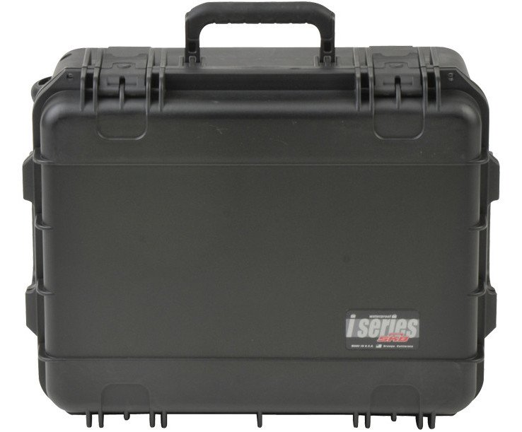 "iSeries Waterproof Case with Layered Foam Interior and Wheels, 19""x14.38""x8"""