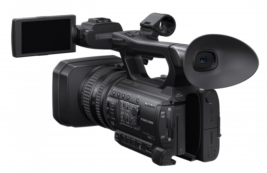 1.0-Type CMOS Compact Solid-State Memory Camcorder