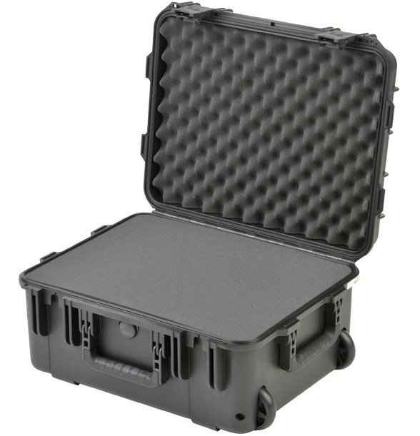 """iSeries Waterproof Case with TSA Latches, Cubed Foam Interior and Wheels, 19""""x14.38""""x8"""""""
