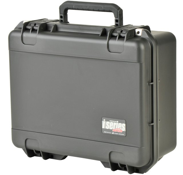 "iSeries Waterproof Utility Case with Padded Dividers, 19""x14.25""x8"""