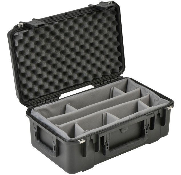 """iSeries Waterproof Utility Case with Padded Dividers, 20.5""""x11.5""""x8.24"""""""
