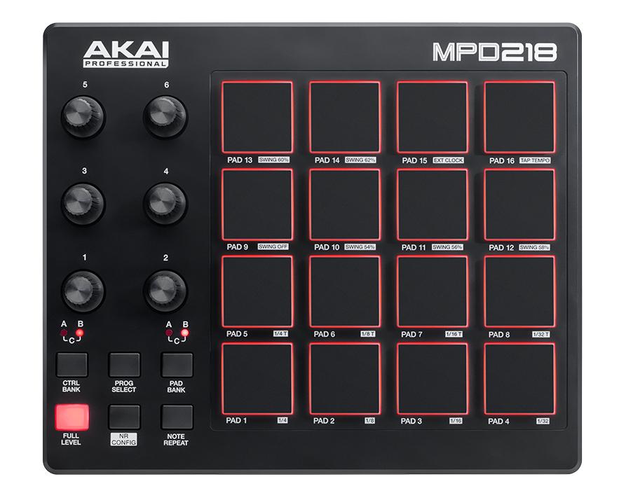 USB-MIDI Pad Controller