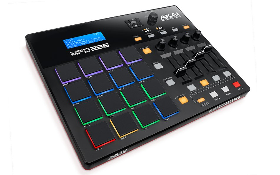 USB-MIDI Pad Controller with RGB Backlit Pads