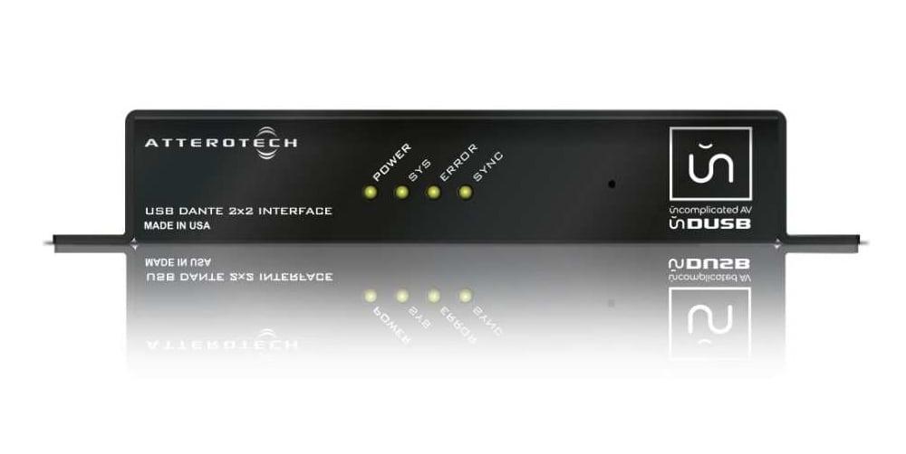 2x2 Channel Dante to USB Bridge