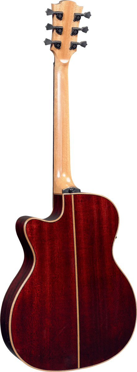 Tramontane 100 Auditorium Slim Cutaway Acoustic/Electric Guitar with StudioLag Plus Electronics in Brown Shadow