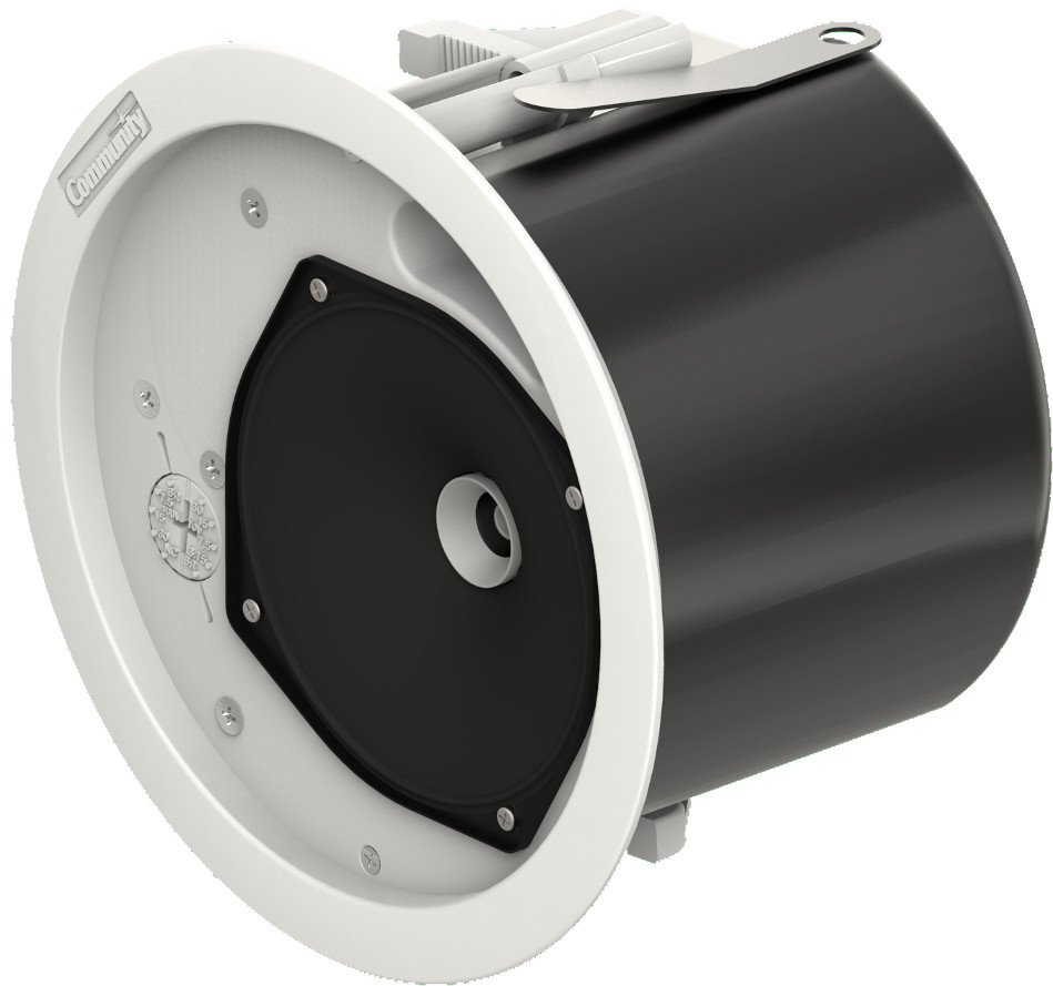 "Commercial Design Series 4.5"" 2-Way 60 Watt Full-Range Ceiling Speaker with 8 Ohm or  70V Operation"