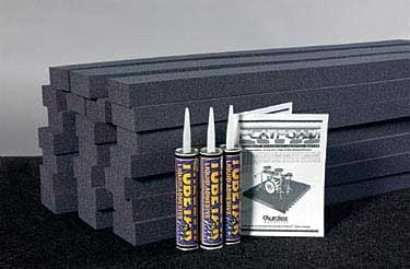 """24 Pack of 2""""x4'x4' Isolation Foam with TubeTak"""