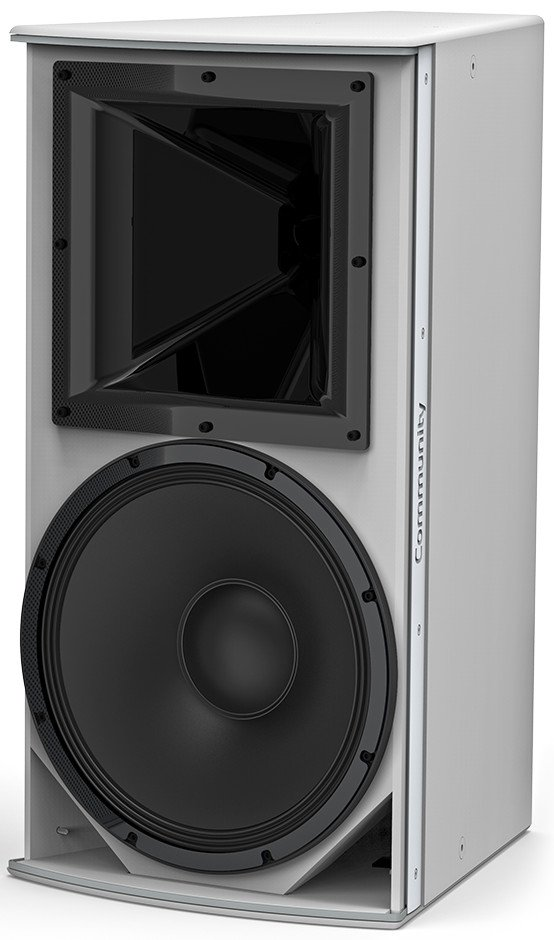 "I Series 15"" 2-Way 600W (8 Ohms) Passive/Bi-Amp Installation Loudspeaker in White with 60°x60° Dispersion"