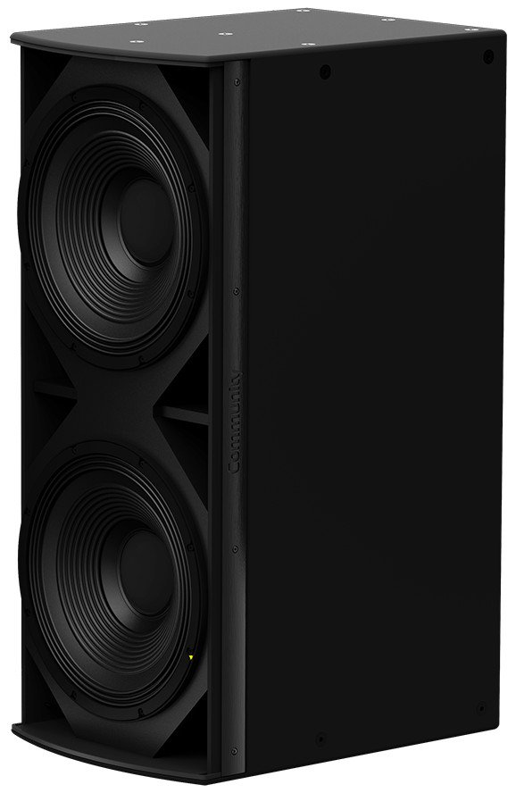 "I Series Dual 15"" 1400W (4 Ohms) Medium Power Passive Installation Subwoofer in Black"