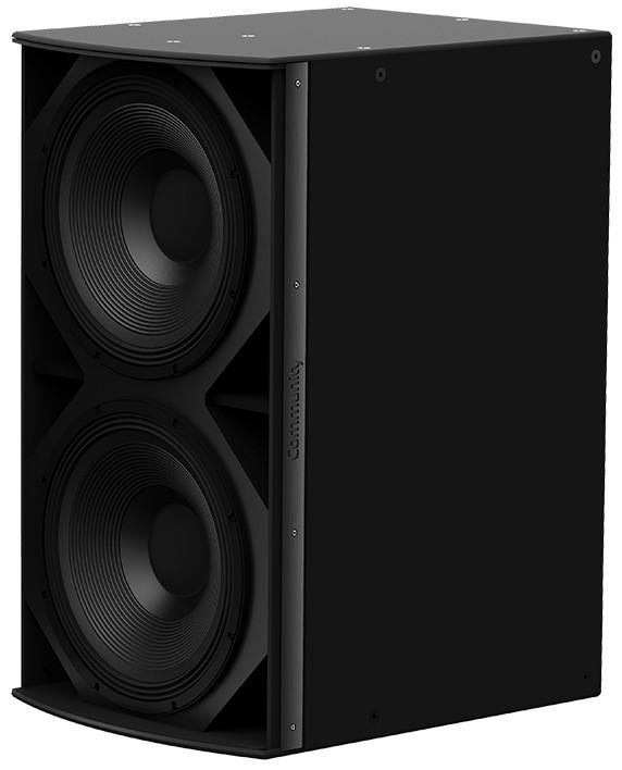 "I Series Dual 18"" 1400W (4 Ohms) Medium Power Passive Installation Subwoofer in Black"