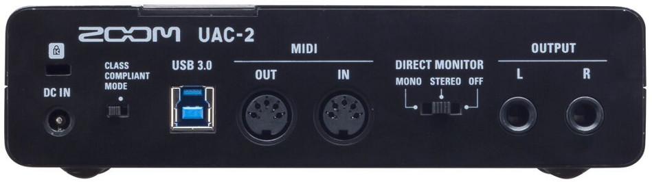 Zoom UAC-2 USB 3.0 SuperSpeed Audio Converter for Mac, PC, iPad UAC-2R