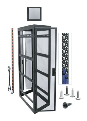 "42-Space, 42"" Deep Configured WMRK Rack with Sides"