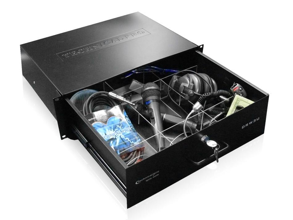Rack-Mountable 3RU Drawer