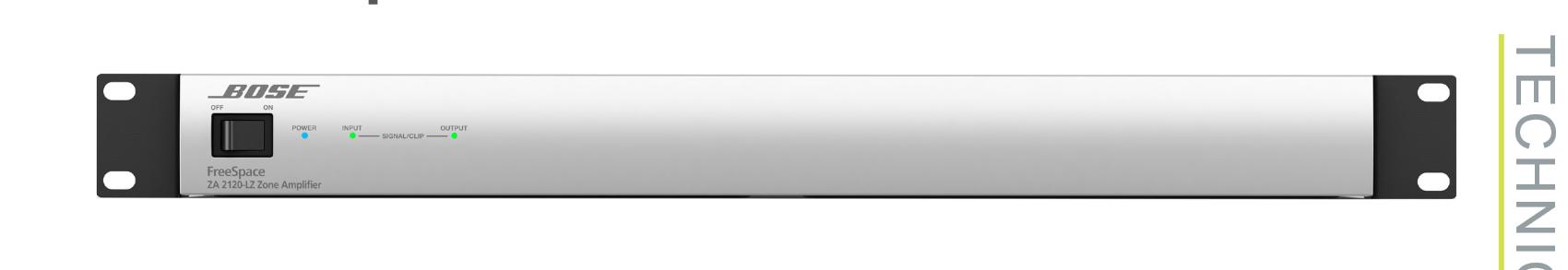 Freespace Zone Amplifier, 2x120W, 4/8 Ohm