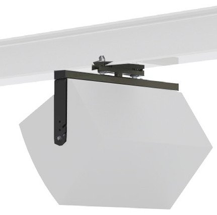 "Swivel Beam Clamp with 20"" Arm for 7""-12"" Beams"