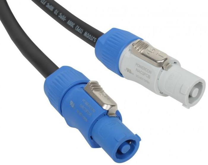 50 ft Neutrik PowerCon Power Extension Cable