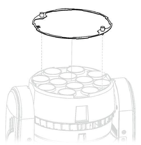 ROBIN 100 LEDBeam Diffusion Filter Kit