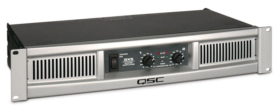 2-Channel 500 Watts @ 8 Ohms Power Amplifier