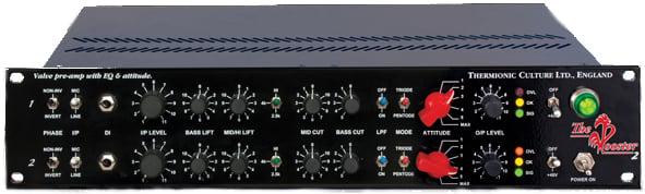 2-Channel Microphone Preamp/DI/EQ