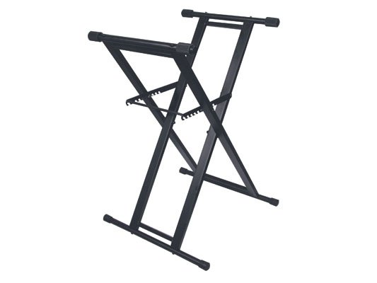 Double-Braced X-Stand for DJ Coffin Cases