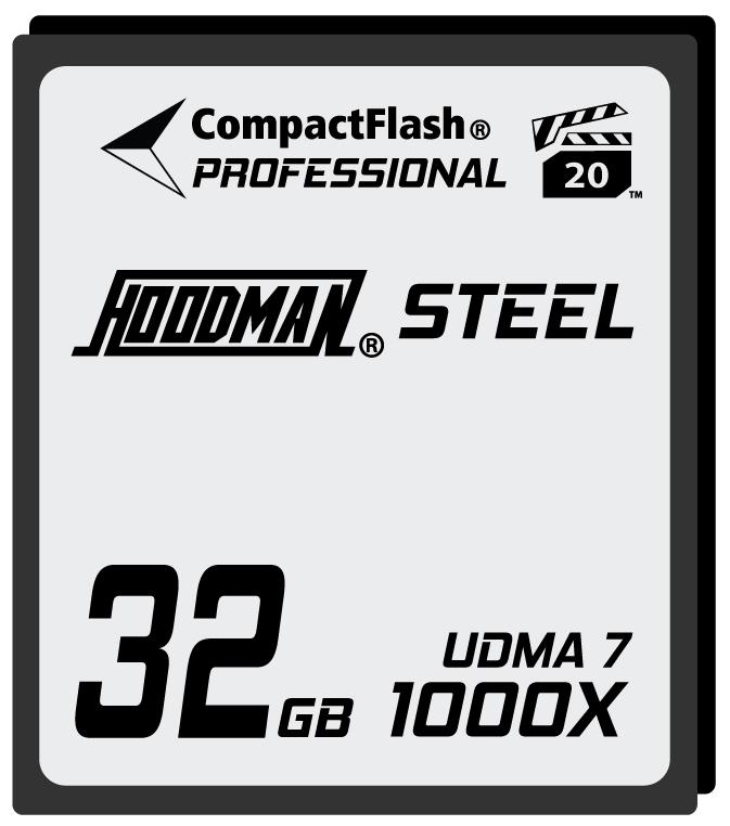 32GB Compact Flash Card 1000X