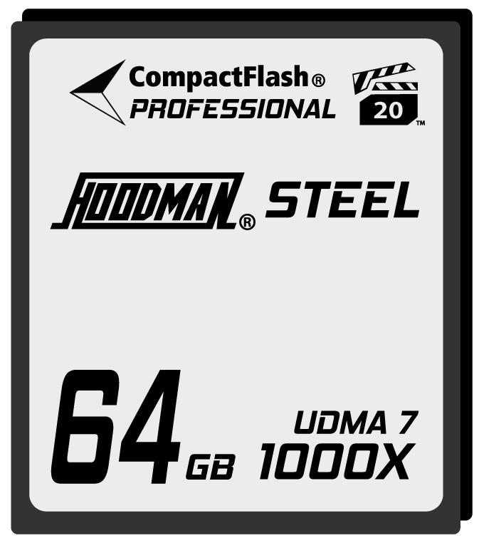 64GB Compact Flash Card 1000X