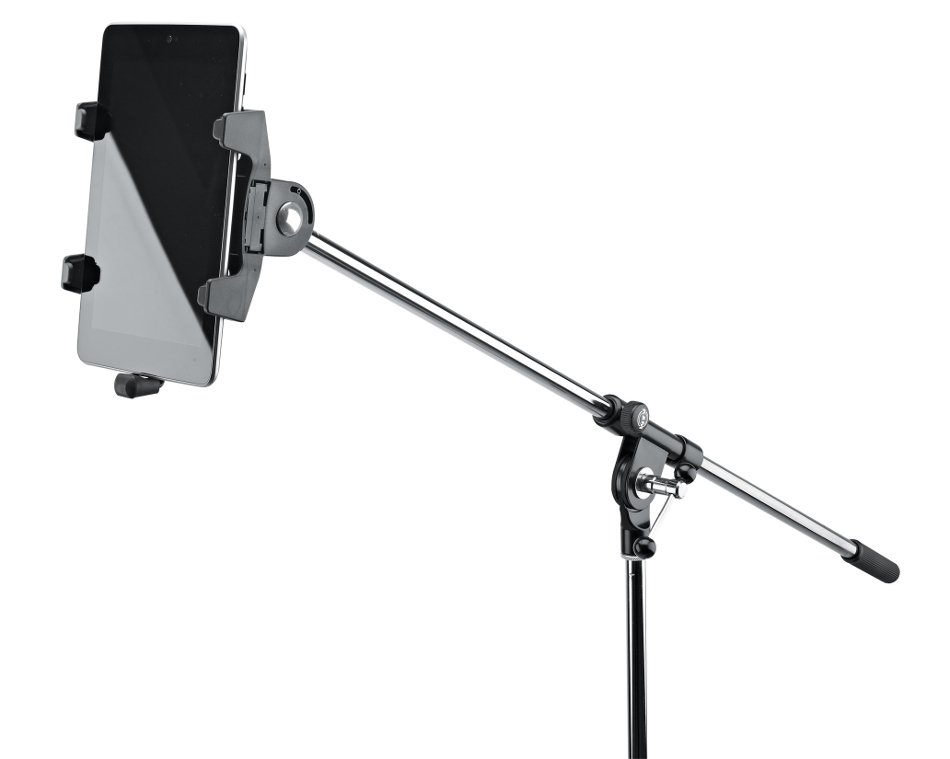 Stand-Mounted Tablet Holder