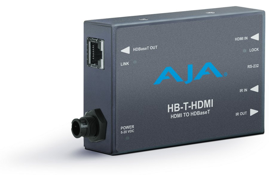 AJA Video Systems Inc HB-T-HDMI HDMI to HDBaseT Ethernet Transmitter Mini Converter HB-T-HDMI