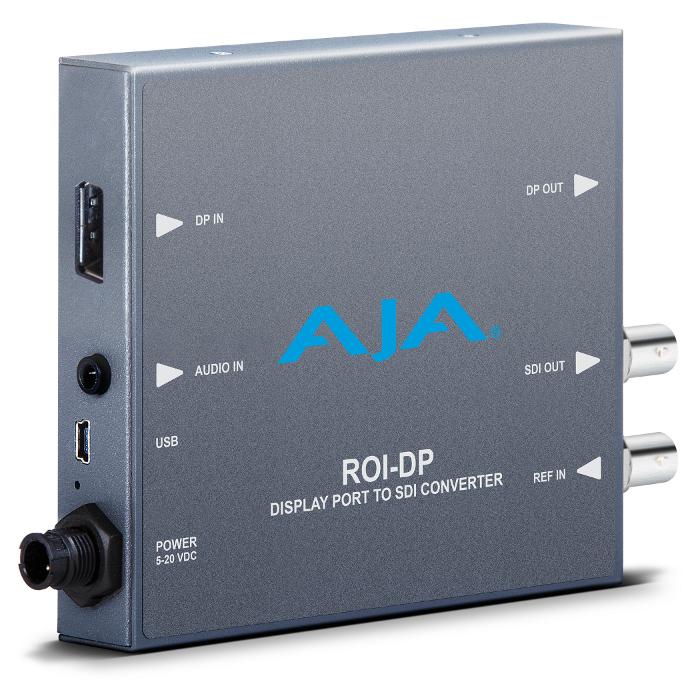DisplayPort to SDI Mini Converter with ROI Scaling