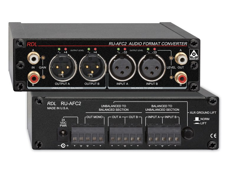 Stereo Audio Format Converter
