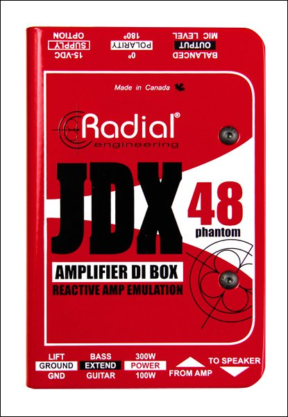 Guitar Amplifier Direct Box