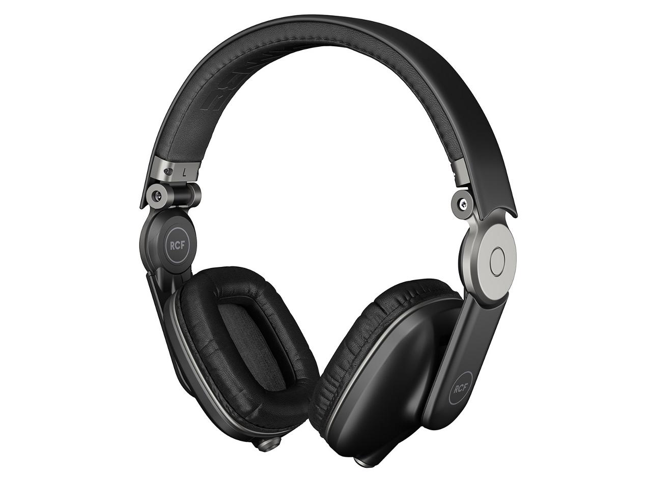 Supra-Aural Headphones in Pepper Black