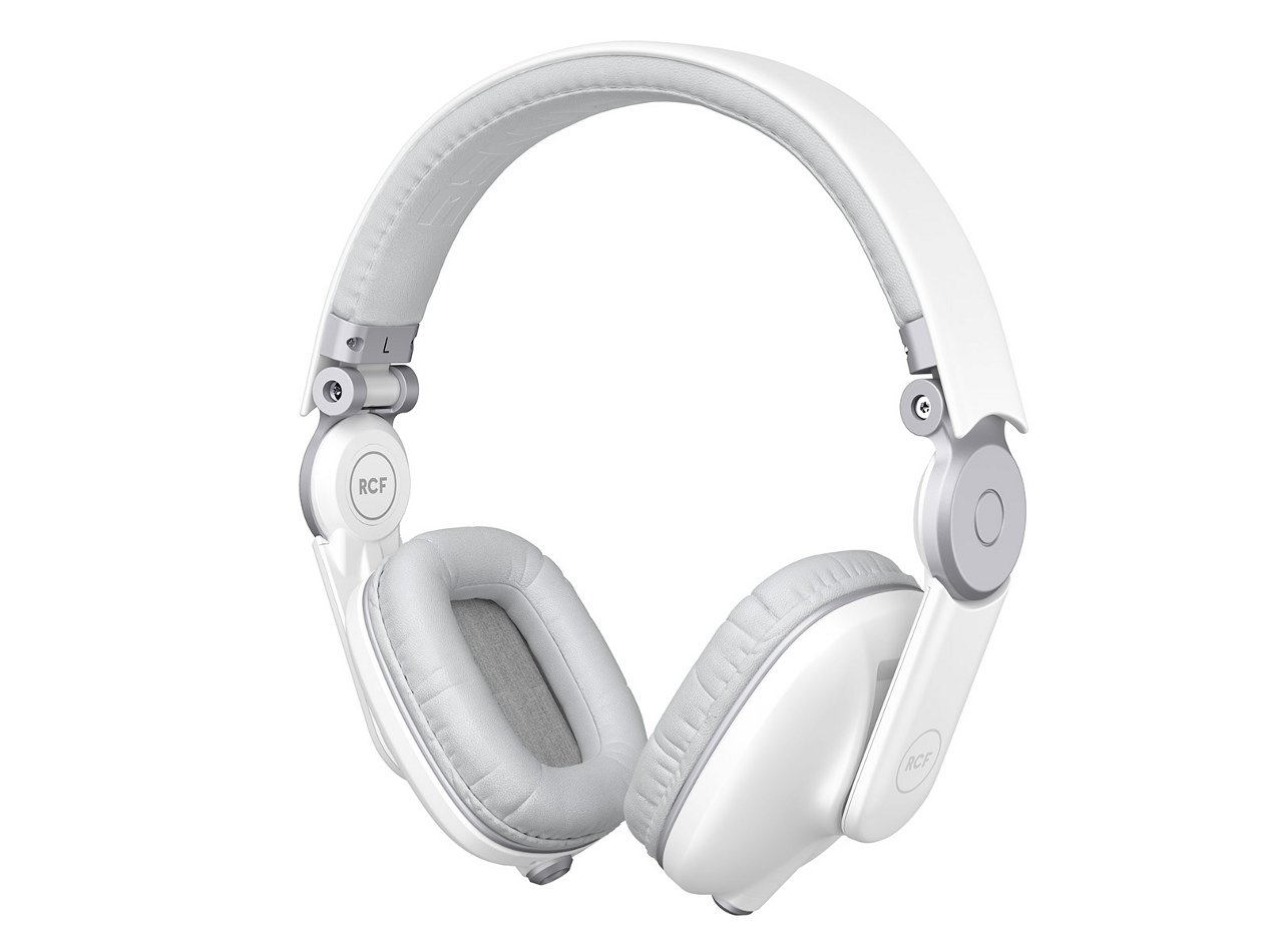Supra-Aural Headphones in White