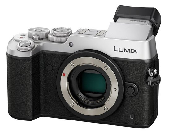 Panasonic DMC-GX8SBODY 20.3MP LUMIX GX8 Interchangeable Lens (DSLM) Camera Body Only in Silver DMC-GX8SBODY