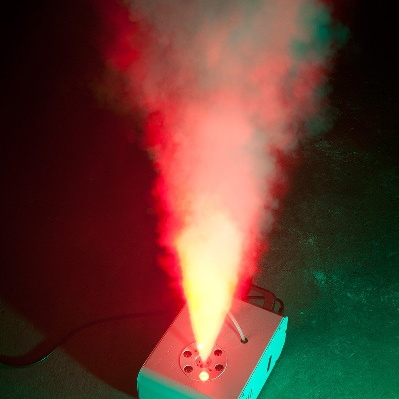 Vertical Fog Machine with Light/Color Effects