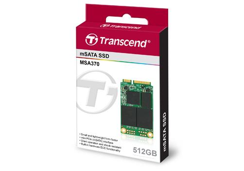 512GB SATA III 6Gb/s MSA370 mSATA SSD Module