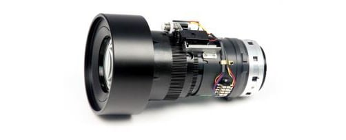 Long Zoom Optical Lens for Large Venue Projection