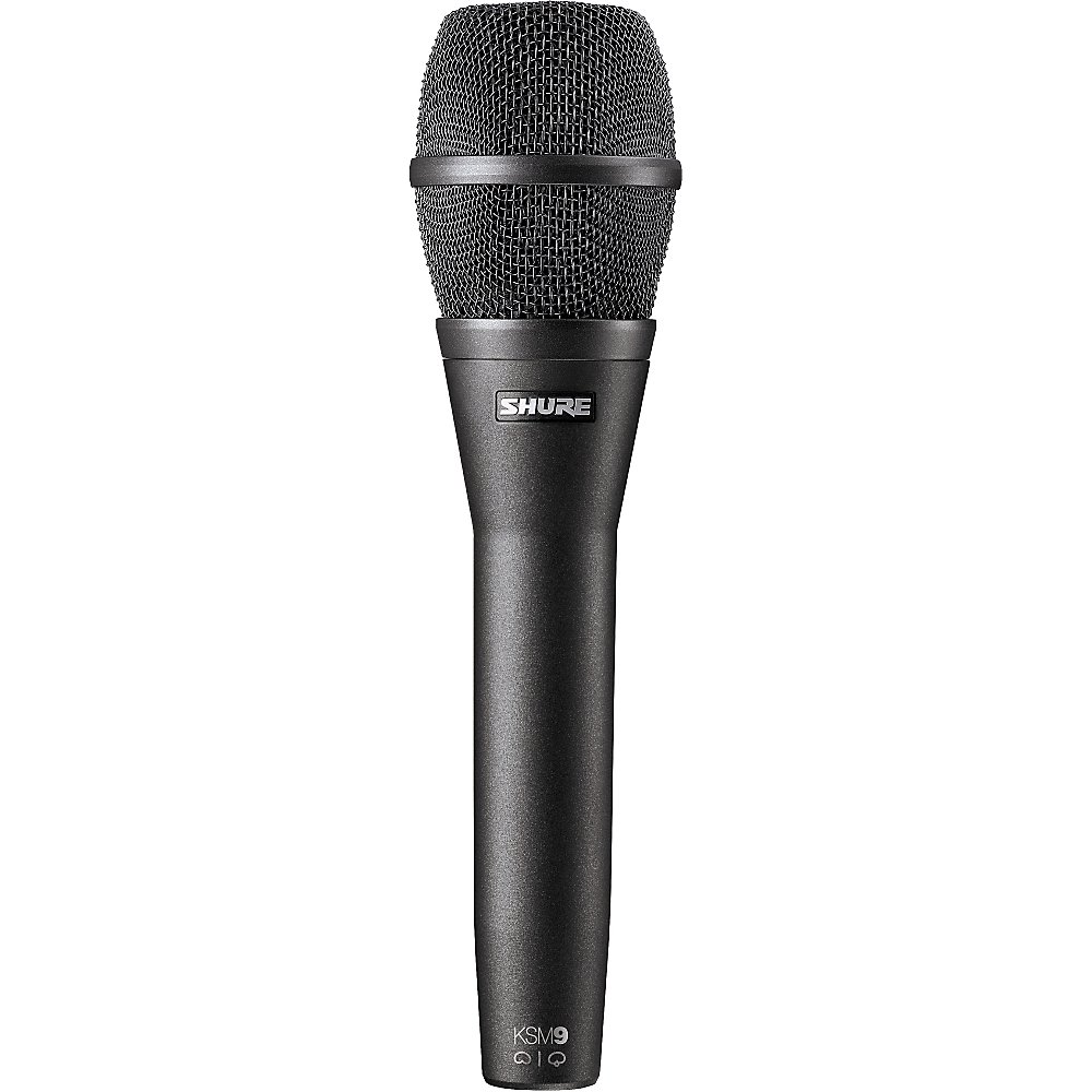 Dual-Pattern Handheld Condenser Microphone - Charcoal Grey Finish
