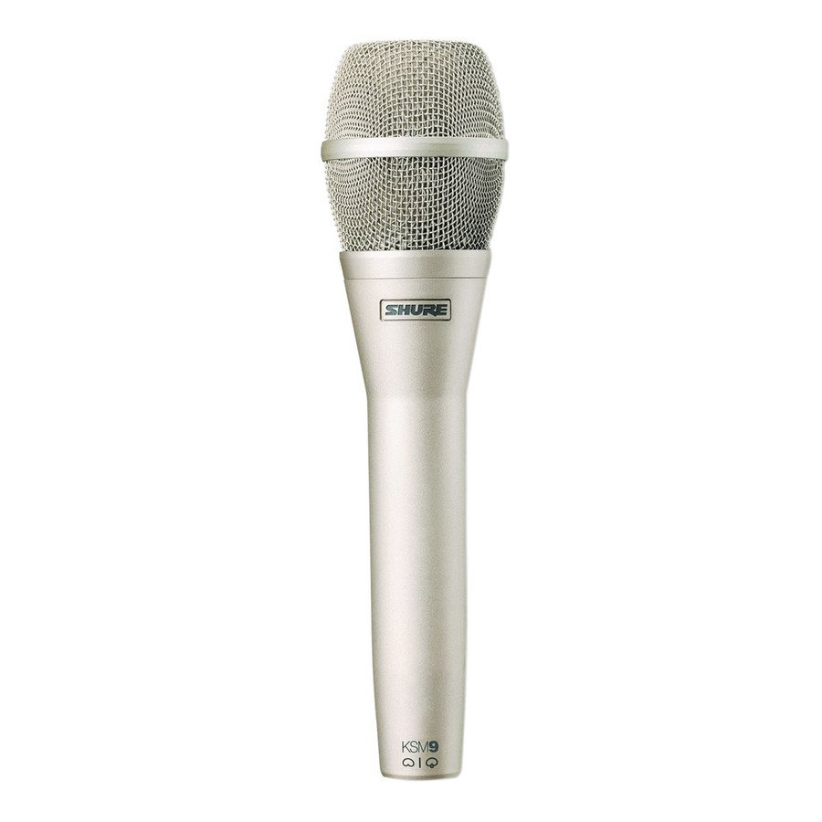 Dual-Pattern Handheld Condenser Microphone - Champagne Finish