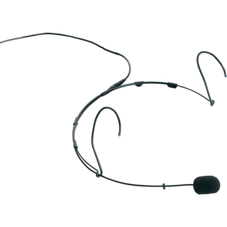 DPA Microphones 4088-BA33 Miniature Cardioid Headset Microphone with Standard Sensitivity in Black 4088-BA33