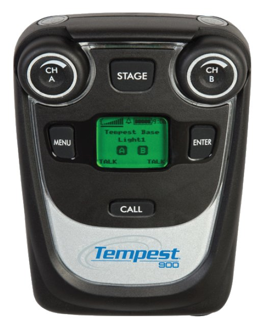 Tempest 900MHz 2-Channel Wireless BeltStation